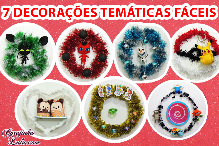 diy_natal_como_fazer_7_decoracoes_guirlandas_tematicas_miraculous_sonic_disney_frozen_cartoon_network_pokemon_corujices_da_lu_corujinhalulu