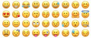 Expressões de Emojis