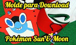 DIY Pokémon Sun & Moon: Como Fazer Quadro Magnético / Porta Celular Rotom Pokédex + Ímãs de Pokébolas + Amuleto - Corujices da Lu | faça você mesmo tutorial passo a passo artesananto corujinhalulu corujinha lulu ©CorujinhaLulu.com