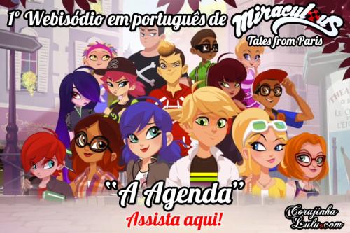 Miraculous Webisodes: Assista ao Primeiro Webisódio da Web Série legendado em português