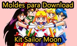 Diy Anime: Kit Sailor Moon com Tiara Lunar + Gargantilha + Brincos + Caderno + Capinha de Celular / Tablet com porta fone de ouvido + Cetro Lunar Touch - Corujices da Lu | faça você mesmo tutorial passo a passo manualidades Serena Luna Faça Você Mesmo grátis em casa Download: Kit Sailor Moon| ©CorujinhaLulu.com corujinhalulu corujinha lulu