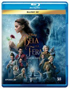 A Bela e a Fera - Live Action 2017 (Blu-Ray 3D)