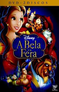 A Bela e a Fera - Animação / Desenho Clássico (DVD Duplo)