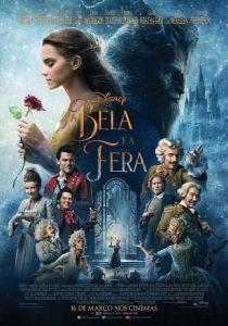 Poster nacional do filme A Bela e a Fera (2017 - Live Action | Walt Disney Pictures) brasil brazil br pt