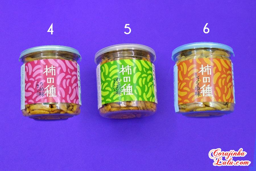 Provando Salgadinhos do Japão - Comidas Japonesas / Falando de Comida daiso japan brasil caramel snack noodle baby star miojo macarrão arroz wasabi | ©CorujinhaLulu.com