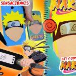 Diy Naruto: Como Fazer Kit Fácil com Caderno + Capinhas de Celular / Tablet + Kunai Touch + Bandana | Corujices da Lu