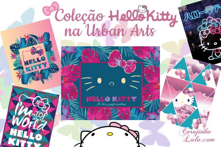 Coleção de Poster da Hello Kitty: visitamos a Exposição na Urban Arts ao lado da personagem mais icônica da Sanrio