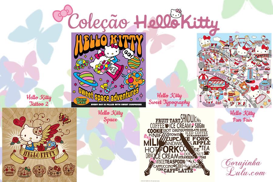 Coleção de Poster da Hello Kitty: visitamos a Exposição na Urban Arts ao lado da personagem mais icônica da Sanrio | ©CorujinhaLulu.com quadros posters posteres kawaii fofo fofura japão luciene sans corujinha lulu corujinhalulu