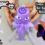 Diy Miraculous : Como Fazer Kit Kwami Nooroo com Broche do Hawk Moth + Pelúcia + Akuma   Corujices da Lu