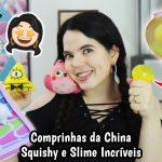 Recebidos / Compras da China – Squishy e Slime Baratos – Promoção Newchic