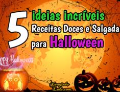 5 Receitas Doces e Salgadas para o Halloween – ideias para o Dia das Bruxas | Receita De Bico Cheio