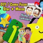 Diy Disney – Star Vs As Forças do Mal – Como Fazer Capinhas Unissex + Nicho Luminária de Nuvem + Bolsa de Estrela | Corujices Da Lu