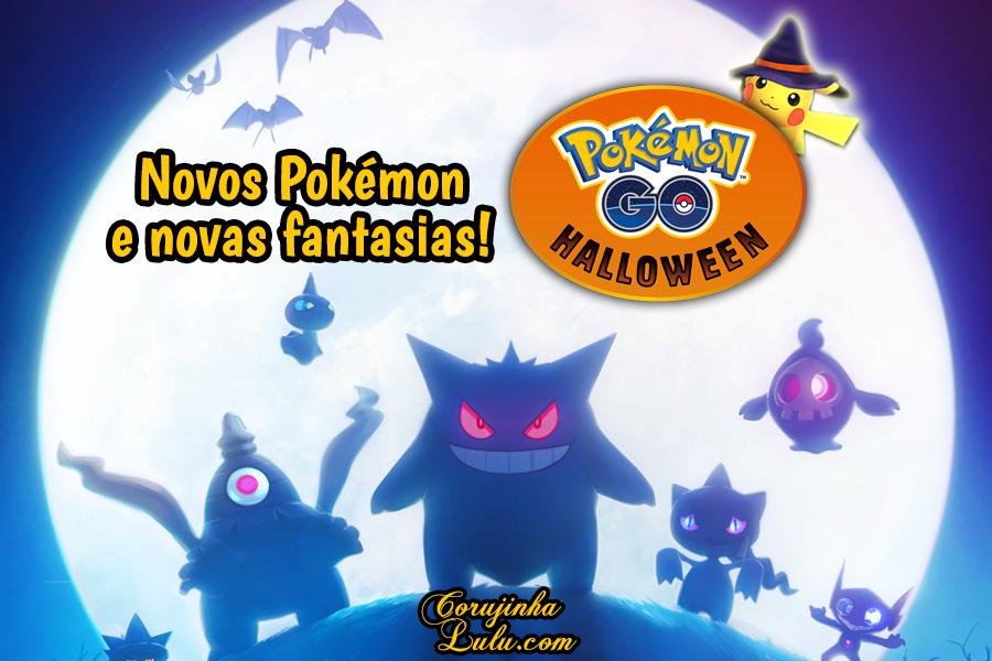 Pokémon Go Halloween começa hoje com novidades de Hoenn games jogos app celular móvil tablet ios android jogo grátis fantasia novos pokémons pokemon pikachu dia das bruxas chapéu hat corujinha lulu corujinhalulu