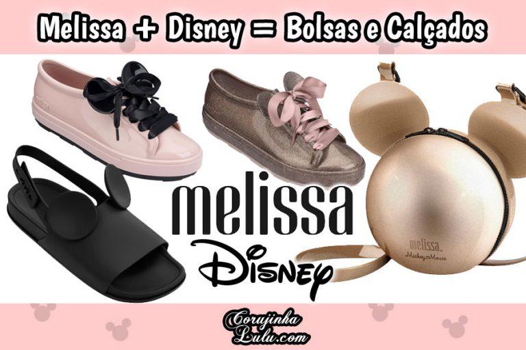Melissa + Disney = Orelhinhas de Mickey em Bolsas e Calçados
