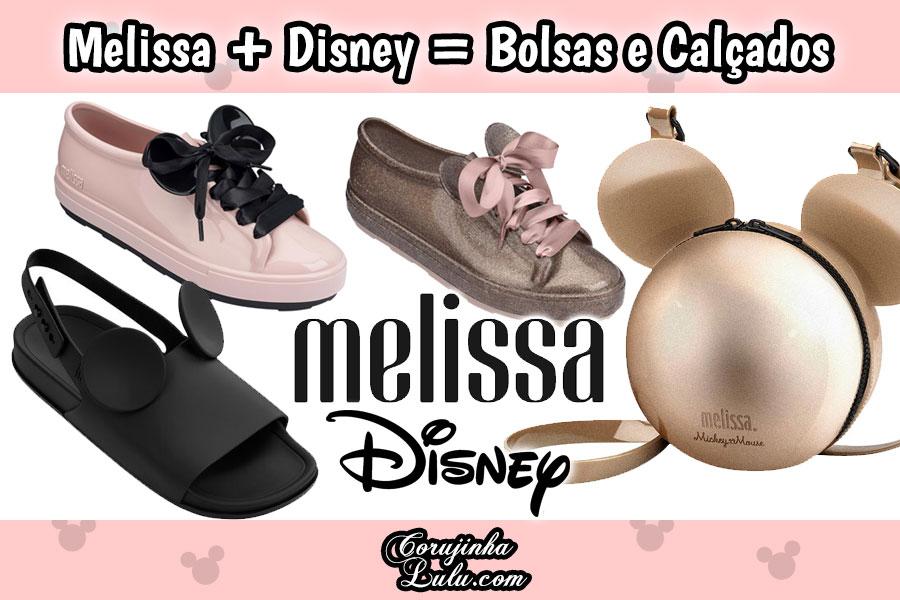 Melissa + Disney = Orelhinhas de Mickey em Bolsas e Calçados | ©CorujinhaLulu.com coleção sandálias tênis bolsa redonda mickey minnie sliper mapping beach slide sandal melissa be mel be moda beleza acessório temático geek