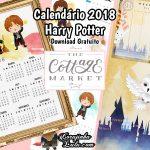 Planner e Calendário 2018 de Harry Potter (Gratuito)