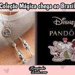 A coleção de Charms Disney Pandora está à venda no Brasil