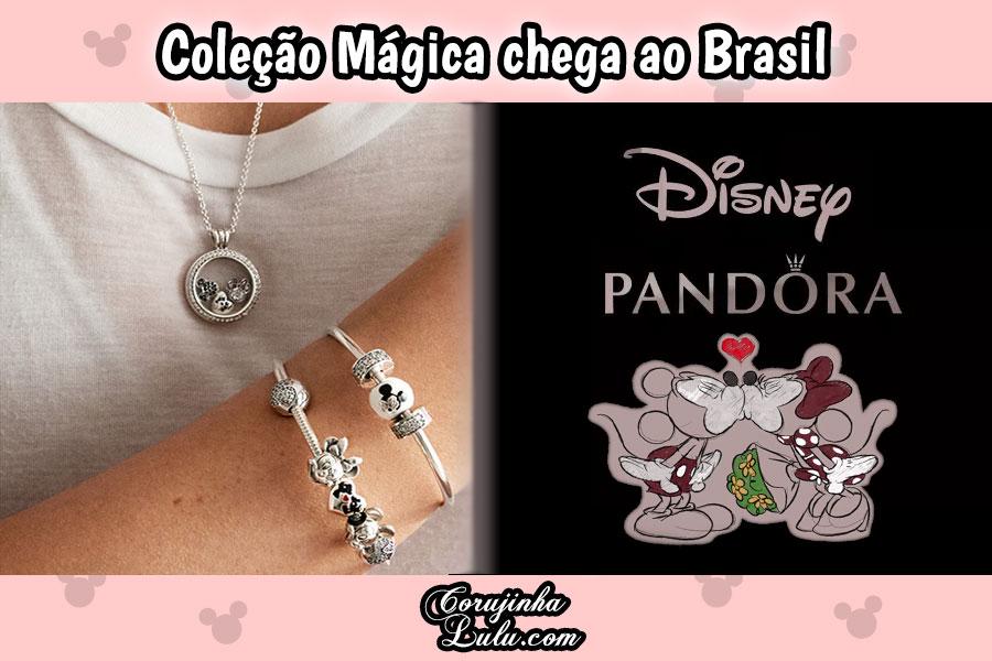 A coleção de Charms Disney Pandora está à venda no Brasil | ©CorujinhaLulu.com chegou ao Brasil comprar fã mickey minnie frozen pooh clássico clássicos personagens disney channel xd moda beleza estilo feminino feminina magia mágica corujinha lulu corujinhalulu