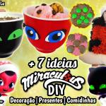 Diy Miraculous Ladybug 2 Temporada: + 7 ideias para Festas / Natal | Corujices da Lu