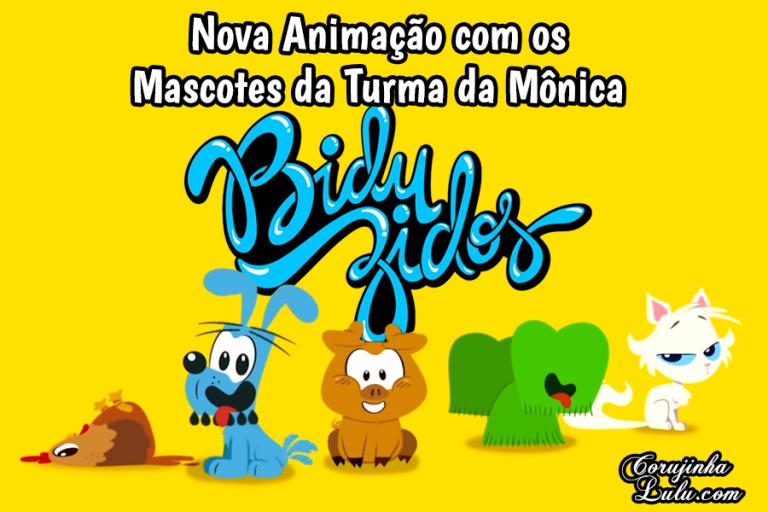 Biduzidos é a nova web-série com os mascotes da Turma da Mônica