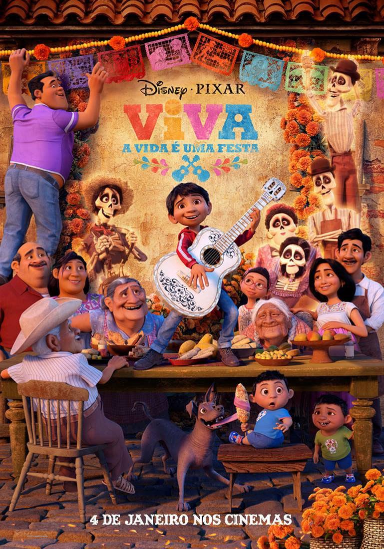 Filme Viva A Vida é Uma Festa 2018 Disney Pixar Resenha