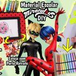 Diy Miraculous Ladybug 2 – Como Fazer Estojo Ladybug e Cat Noir – Material Escolar * Volta Às Aulas | Corujices da Lu