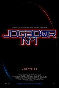 Poster nacional do filme Jogador N°1 / Jogador Número 1 / Ready Player One pt-br brasil brazil corujinhalulu