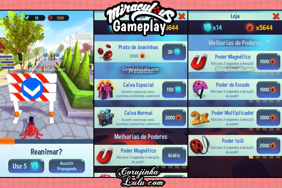 Jogo Oficial - Miraculous: Ladybug & Cat Noir - Gameplay e Dicas | ©CorujinhaLulu.com corujinha lulu corujinhalulu - Ladybug & Gato Noir