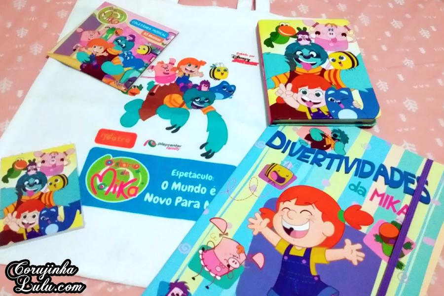 Teatro para Família: O Diário de Mika está no Playcenter Family |©CorujinhaLulu.com disney channel junior corujinha lulu corujinhalulu