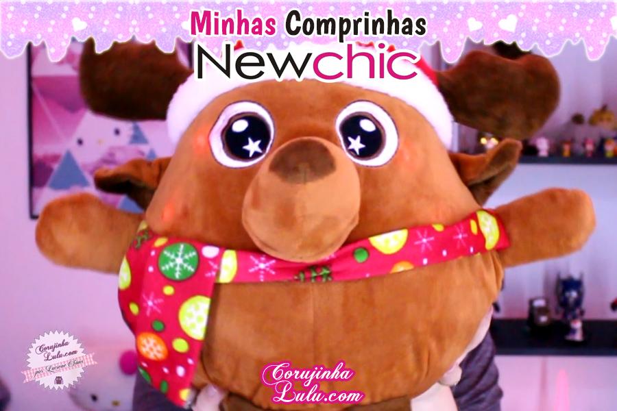 Comprinhas Temáticas - Miraculous Ladybug + Disney Sou Luna + Star + Kawaii Newchic | ©CorujinhaLulu.com corujinha lulu corujinhalulu rena papai noel natal xmas christmas decoração pelúcia