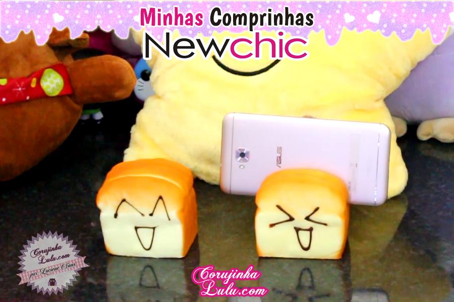 Comprinhas Temáticas - Miraculous Ladybug + Disney Sou Luna + Star + Kawaii Newchic | ©CorujinhaLulu.com squish squishy pão porta celular corujinha lulu corujinhalulu