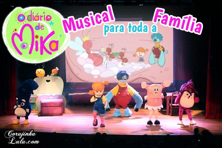 """Programa para toda família: Musical """"O Diário de Mika"""" em Santos"""