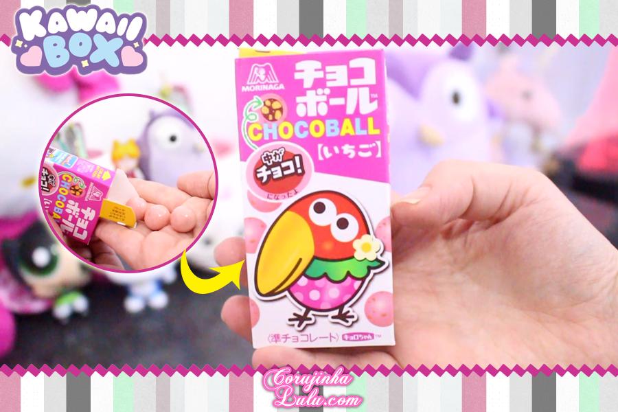 Review + Sorteio Kawaii Box Maio 2018 | ©CorujinhaLulu.com corujinhalulu corujinha lulu chocolate tucano chocoball doce japonês japão