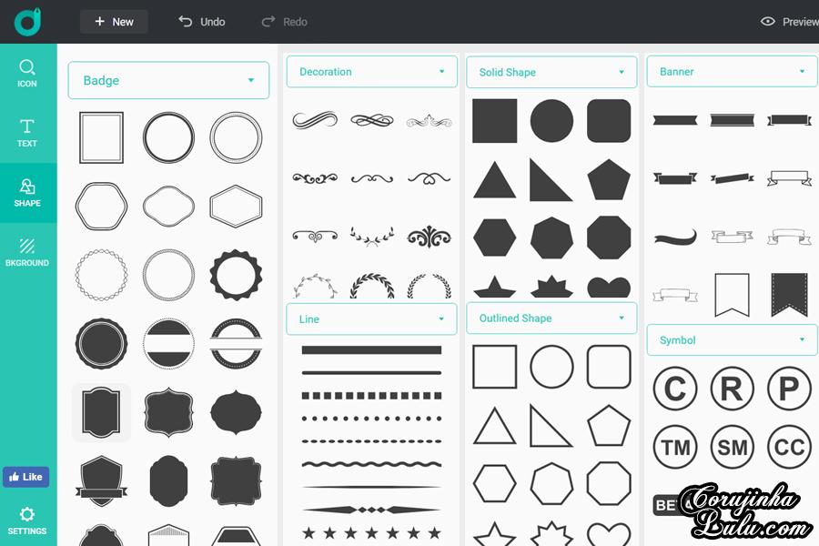 Como Fazer Logos Grátis | ©CorujinhaLulu.com Como Fazer Logo Profissional Gratuitamente criação marketing digital fácil tutorial