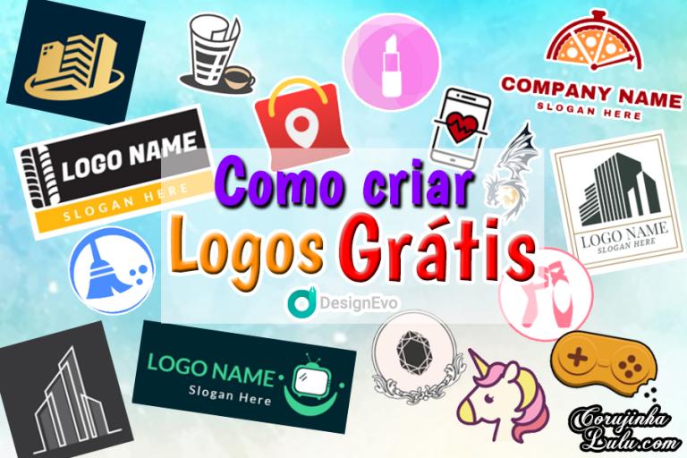 Como Criar Logo Grátis com DesignEvo | Tutorial