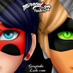 Fanart de Miraculous As Aventuras de Ladybug e Cat Noir | Parte 1