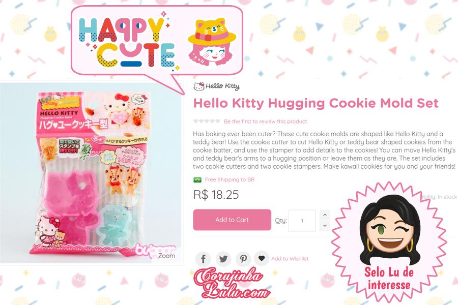 Molde da Hello Kitty da Happy Cute Shop - mais uma Loja Super Kawaii com Frete Grátis | ©CorujinhaLulu.com