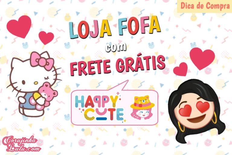 Happy Cute Shop - mais uma Loja Super Kawaii com Frete Grátis