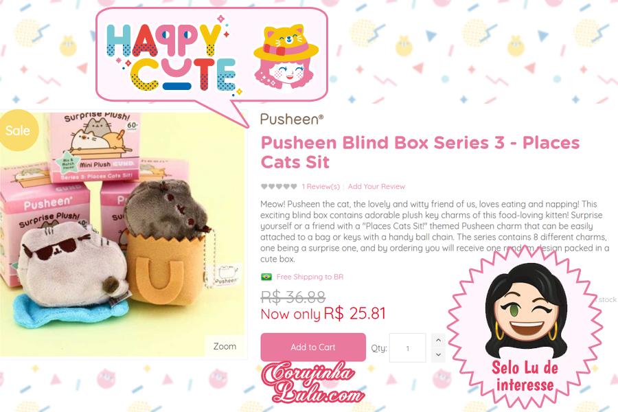 Surprise Pusheen Collectibles da Happy Cute Shop - mais uma Loja Super Kawaii com Frete Grátis | ©CorujinhaLulu.com