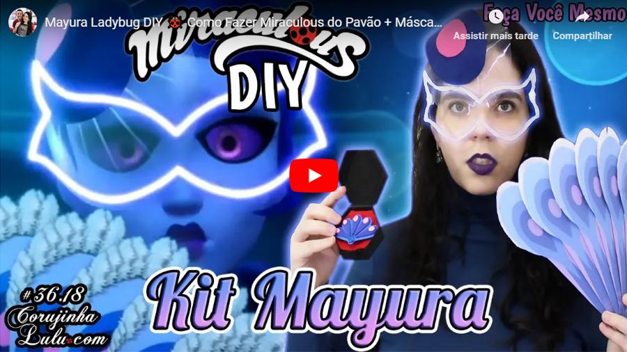 Assistir Miraculous Ladybug em português: Mayura Ladybug DIY 🐞 Como Fazer Miraculous do Pavão + Máscara + Leque + Acessório