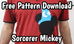 Download: Free Pattern Mickey Mouse Christmas Carol DIY (Disney) | ©CorujinhaLulu.com corujinha lulu corujinhalulu