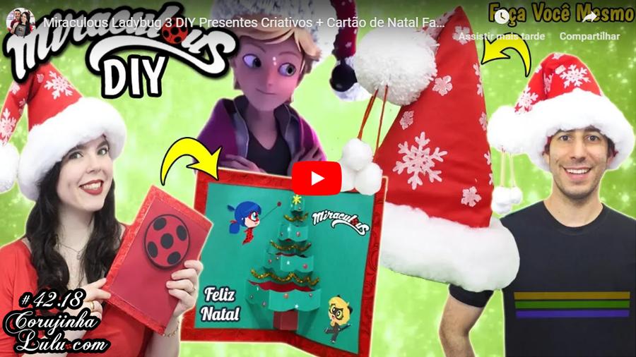 Assistir Miraculous Ladybug em português: 🐞 Miraculous Chibi DIY Especial de Natal | Faça Você Mesmo | Corujices da Lu