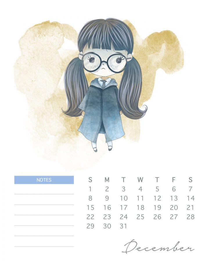 Planner E Calendario 2019 De Harry Potter 05 Modelos Gratuitos