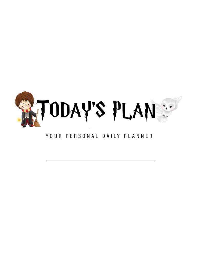 Planner e Calendário 2019 de Harry Potter (Gratuito)