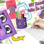 Ideias Kawaii de Volta As Aulas Diy Material Escolar + Sorteio | Corujices da Lu