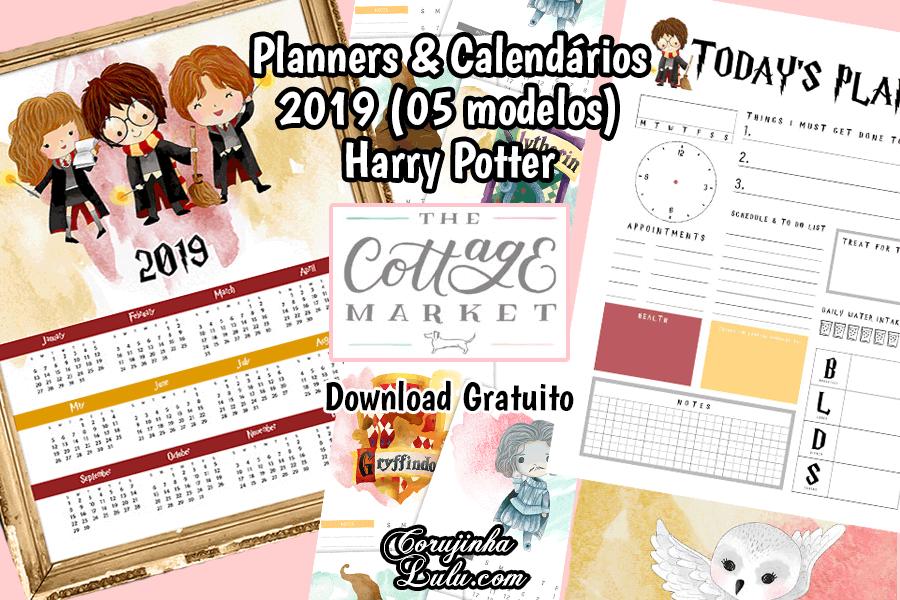 Calendario 2019 Disney Para Imprimir.Planner E Calendario 2019 De Harry Potter 05 Modelos Gratuitos
