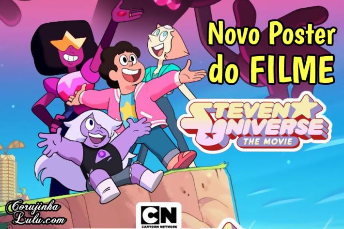 Steven Universo Filme : poster revela novo vilão (Steven Universe The Movie) | ©CorujinhaLulu.com